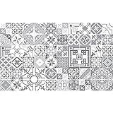 Ambiance-Live Azulejos hidráulicos Adhesivos para Pared–Azulejos–20x 20cm–60Piezas
