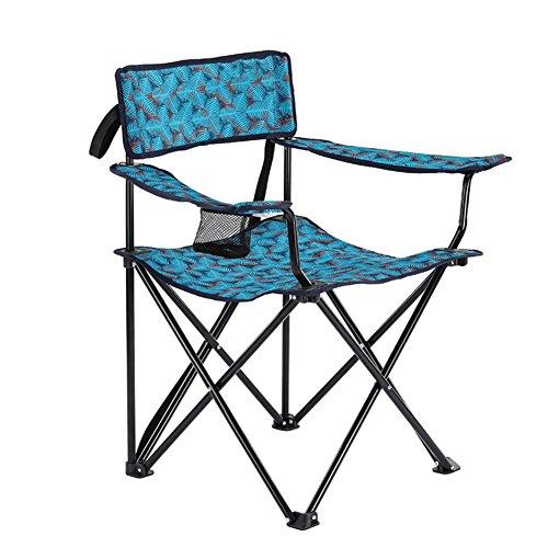 L&J Plein Air Chaises Pliantes, Confortable Durable Chaise De Camping Portable Chaise De Pêche, Le Picnic Barbecues Peinture Croquis, Charge 100kg-B