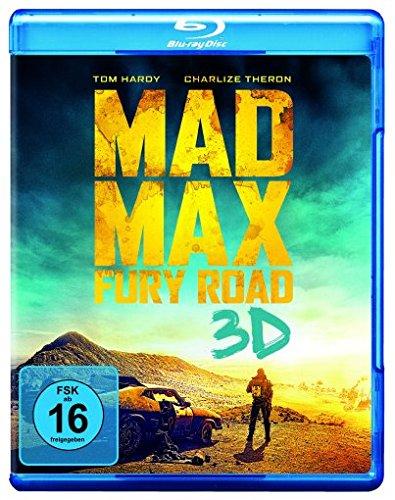 Mad Max: Fury Road [3D Blu-ray] (Mad Fury Road-kostüm Max)