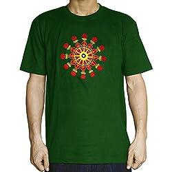 Camiseta Verde Espiral