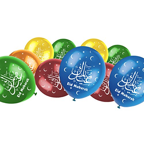 Uniquedesignz Eid Mubarak 70 Labels to put on favour party bags Sweet cones Non Personalised By 00117