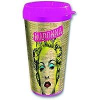 Madonna–Pop icona tazza tazza da viaggio Travel Mug Celebration... Confezionato in una confezione regalo.