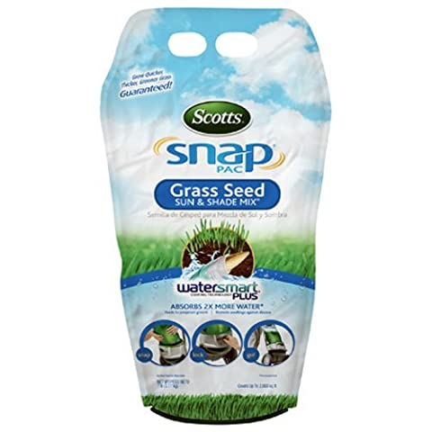 SCOTTS LAWNS Snap Pac Sun & Shade Grass Seed,