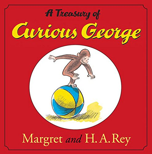 A Treasury of Curious George (Curious George 8x8)