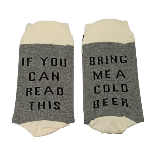 Paar Gedruckt (Lustige Unisex Damen Mann Socken, 1 Paar Gedruckt Baumwolle Socken, Neuheit Vintage Retro-Weihnachtssocken-