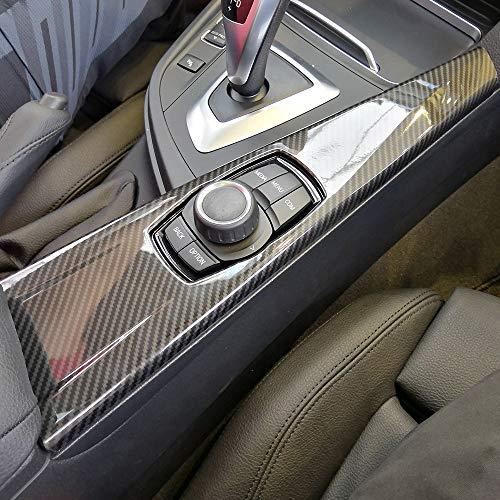 EBTOOLS Climatiseur Sortie Ventilation Int/érieurs Cadre En Fiber De Carbone Couverture Garniture Autocollant pour F30 F34