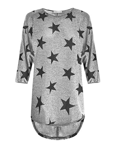 Comfiestyle - Robe - Manches Longues - Femme Gris