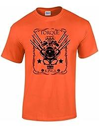T-shirt homme slogan Torque Kings pour les accros de la mécanique et de la course #11