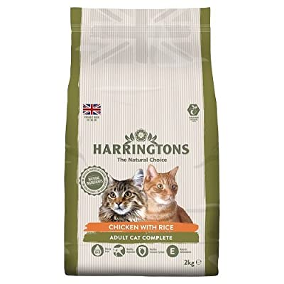 Harringtons Chicken with Rice Complete Cat Food, 2 kg