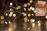 20er LED Lichterkette kupfer farben Weihnachten Innenbeleuchtung Mikro-LEDs 20 Stk Weihnachtsdeko Tischdeko BB Weihnachten Lampen Lichter Metallsterne Indoor Batteriebetrieben Gesteckdeko warmweiss
