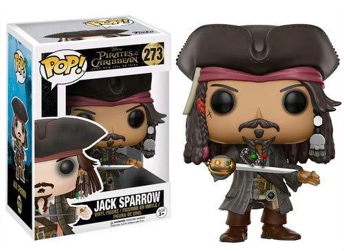 Funko Pop! Jack Sparrow Figura de Vinilo, colección de Pop, seria Pirates 5 12803