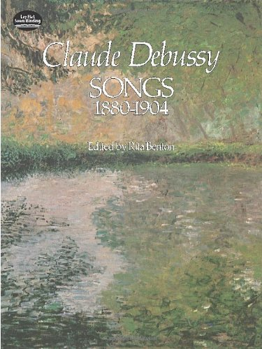 Mélodies (1880-1904) - Cht/Po par Debussy