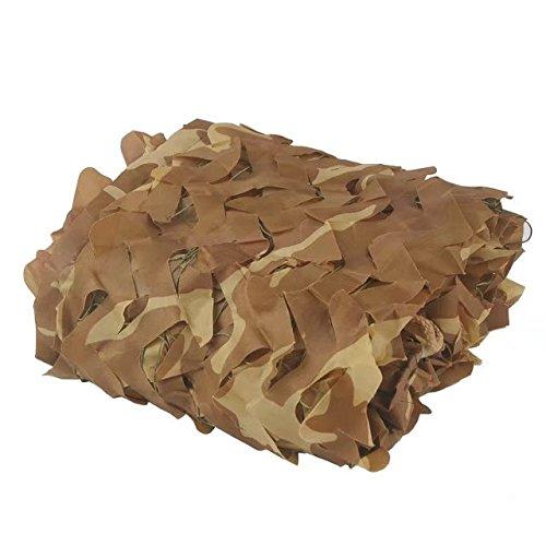 Sitong - Filet de camouflage 150D pour sol/cache/chasse/oiseaux, sable, 3x4m=9.84x13.12ft