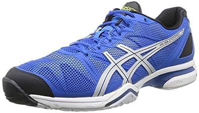 ASICS Gel-Solution Speed, Men Tennis Shoes, Blue (4293-Royal Blue/Lightning/Black), 8 UK (42 1/2 EU)