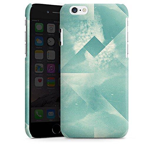 Apple iPhone 4 Housse Étui Silicone Coque Protection Triangles Triangles Triangles Cas Premium brillant