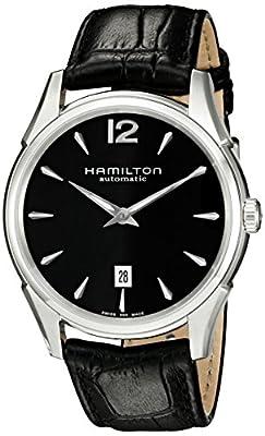 Hamilton H38615735 - Reloj para hombre, correa de cuero color marrón