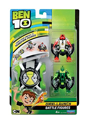 Ben 10 Omni Lancement Figurines de Bataille - Fourarms et Wildvine