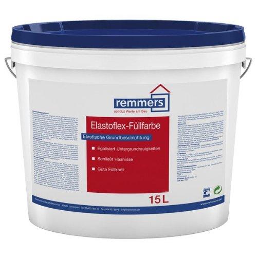 Preisvergleich Produktbild Remmers Elastoflex-Füllfarbe,  altweiß - 15 ltr