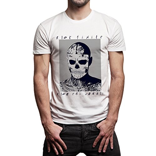 Zombie Boy Rico the Zombie Herren T-Shirt Weiß
