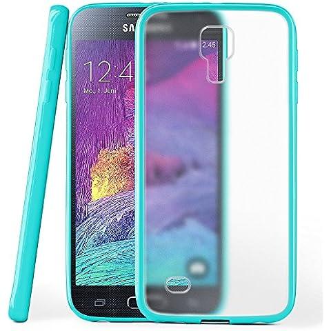 Funda protectora OneFlow para funda Samsung Galaxy S4 Mini Carcasa silicona TPU 1,5mm | Accesorios cubierta protección móvil | Funda móvil paragolpes bolso traslúcida transparente en
