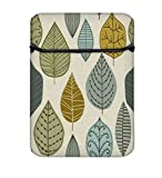 #10: Snoogg Standing Leaves 14 Inch Laptop Case Flip Sleeve Bag Computer Cover