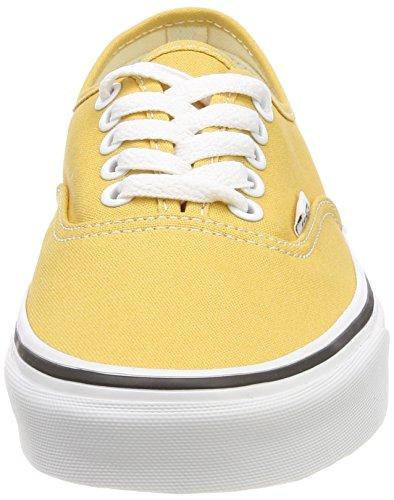 Vans Unisex-Erwachsene Authentic Laufschuhe Gelb (Ochre/true White Qa0)