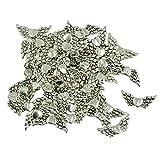 Sharplace 50 Stücke Engelform Anhänger Antike Tibetanische Silber DIY Schmuck Herstellen