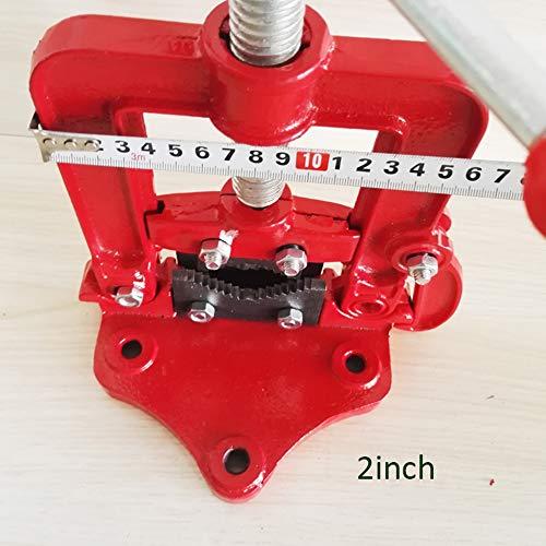 Morsetto girevole da tavolo da 2/3/4 di pollice Tubo da banco per morsa a cesoia Tipo di morsetto a cerniera su ghisa Lavorazione del legno