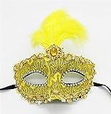 Kaige Maske Feder Make-up Party Maskerade Maske Halloween Maske Leistung Requisiten