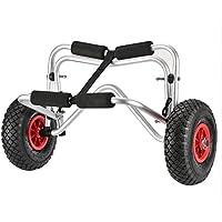 Docooler Carro de Transporte Kayak Carretilla de 75 kg Capacidad de Carga Plegable, De dos Ruedas de Ahorro de Energía