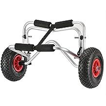 Docooler Kayak Carro de Transporte Plegable, 75 kg Capacidad de Carga, De dos Ruedas