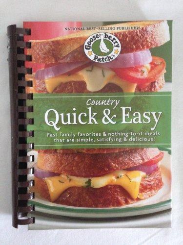 Country livre de cuisine rapide et facile