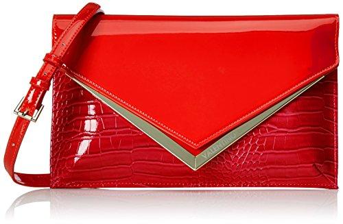 Valentino by Mario Valentino Damen Nemesia Tornistertasche, Rot (Rosso), 1x19x31 cm