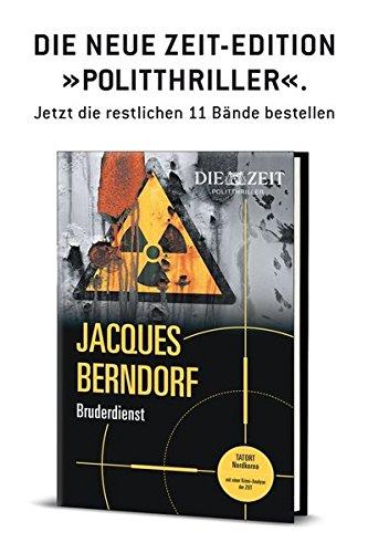Preisvergleich Produktbild ZEIT Kriminalromane: Bruderdienst