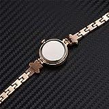 XiYuanShangMao Frauen Runden Zifferblatt Analoge Armbanduhr Luxus Damen Stern Armband Quarzuhr