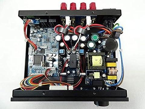 NuPrime NP-IDA-6-BLK Amplificateur DAC/Bluetooth pour PC/MAC/Baladeurs/Android/IOS/TV/CD/BLURAY Noir