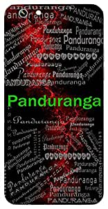 Panduranga (One With A Pale White Complexion) Name & Sign Printed All over customize & Personalized!! Protective back cover for your Smart Phone : Samsung Galaxy Note-4
