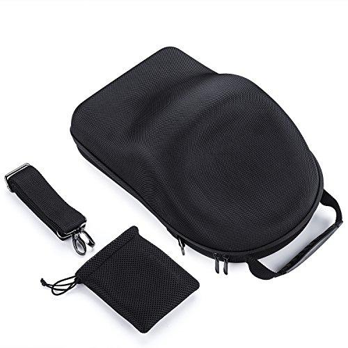 DJI Goggles Case, Myriann DJI Schutzbrillen Aufbewahrungsbox für DJI Schutzbrillen Immersive FPV Double 1920 × 1080 HD Bildschirme Drone Zubehör (Schwarz)