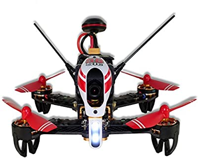 Dromocopter F58sic, Drone Fpv + Rtf + Camera 700tvl + Night Vision + First Drone Dedicated To Marco Simoncelli Sic