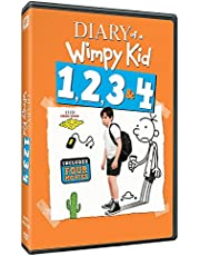 Diary of a Wimpy Kid - 4 Movies Collection: Diary of a Wimpy Kid 1 + Rodrick Rules + Dog Days + The Long Haul (All 4 Movies) (4-Disc Box Set)