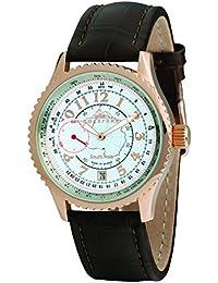 Moscow Classic 3105-00741025 - Reloj , correa de cuero color marrón