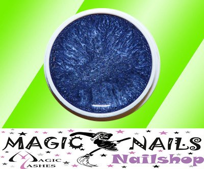 Magic Items Gels UV – – QUALITÉ Studio 15 ml Bleu métallique