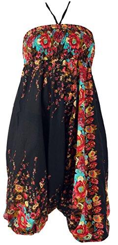Guru-Shop -  Pantaloni  - Donna Nero