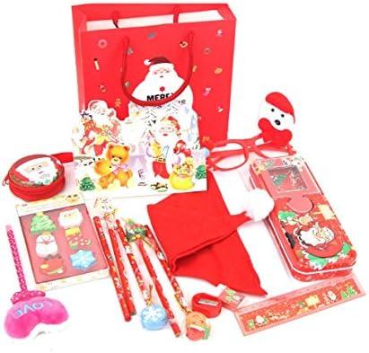 Set Set Set di Cancelleria Forniture per Ufficio per la Sc 15 Pz Regali di Natale per Bambini Materiale Scolastico Set di cancelleria (Coloreee Casuale) d526fb