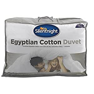 Silentnight Egyptian Cotton Duvet, 4.5 Tog - Single