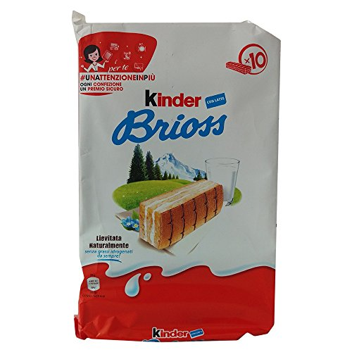 Kinder Milchcremeschnitte Brioss (10x28g Packung)