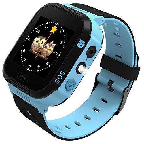 Teabelle-Reloj Inteligente para niños, rastreador GPS para niños niñas cumpleaños con cámara SIM...