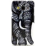 PowerQ [ para Samsung Galaxy A3 A300 - elephant ] Patrón Suave cubierta de la caja de TPU Case Cover colorida Serie Bolsa Imprimir patrón de impresión dibujo Celular caso móvil de la cubierta suave Proteja la piel