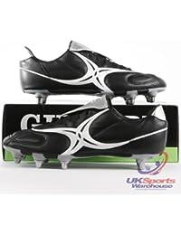 Gilbert Saracen Coupe Basse Terrain Mou SG Chaussures De Rugby Adulte et Tailles Enfants - 48