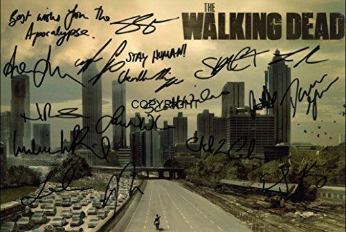 Édition limitée Walking Dead Fonte Photo dédicacée par autographe